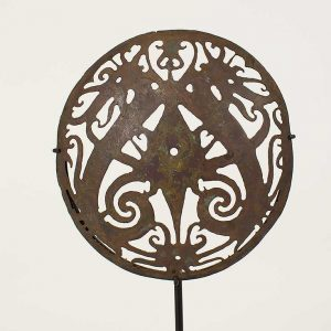 Dayak ceremonial sun hat ornament
