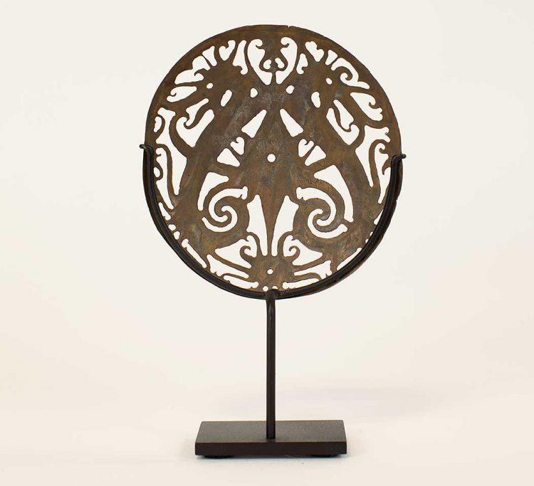 Dayak ceremonial sun hat ornament