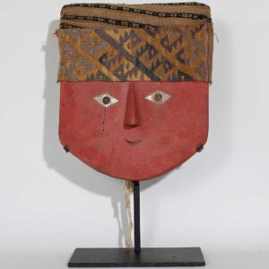 Chancay mummy mask