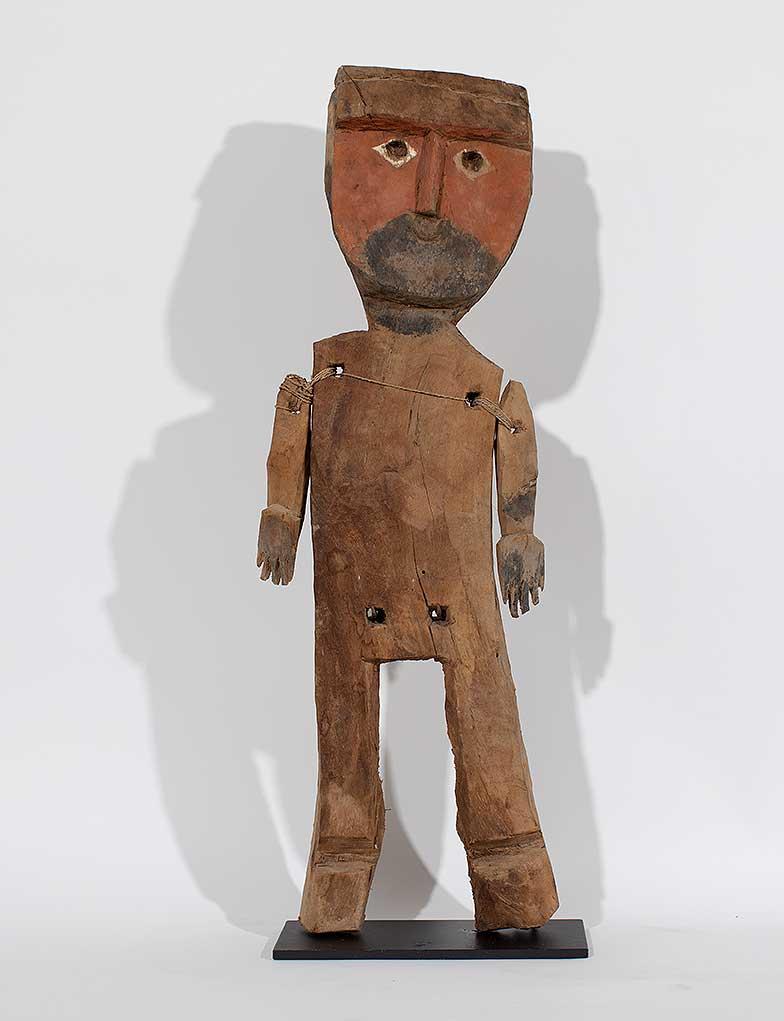 Chancay puppet