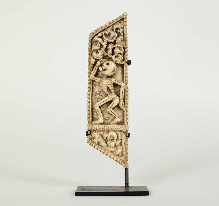 Tibetan bone ornament